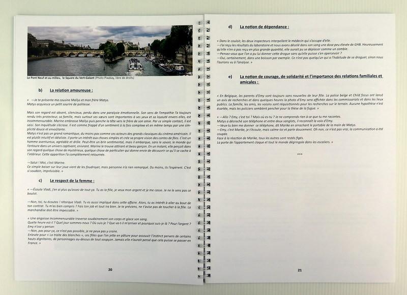 Maison édition Belgique - dossier pédagogique - les petites parsiennes