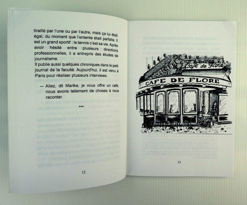 livres jeunesse - entre 2 pages - les petites parisiennes